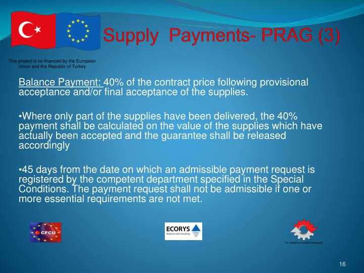 Supply  Payments- PRAG (3)