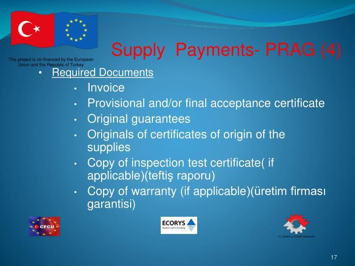 Supply  Payments- PRAG (4)
