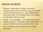 radical islamists