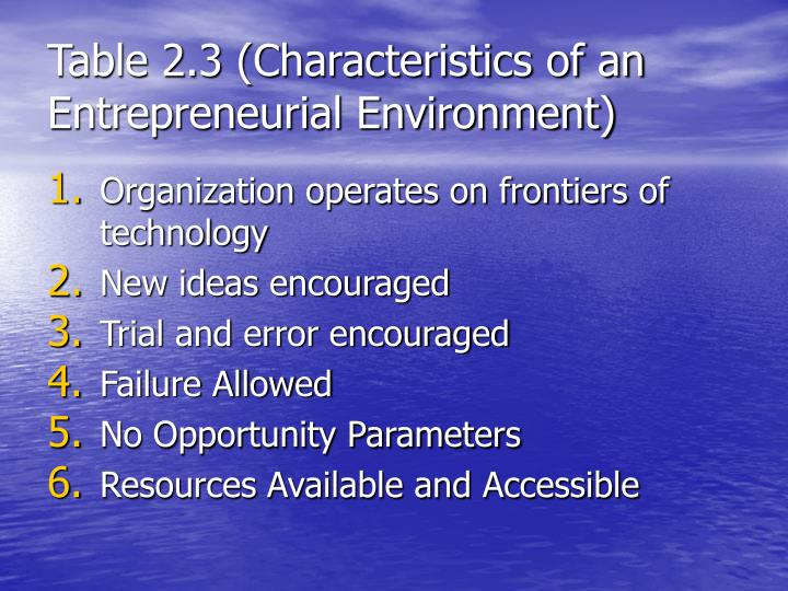 entrepreneurship approach characteristics 211 definitions 7 22 the different approaches of entrepreneurship 9 23  entrepreneurial characteristics 11 231 need for achievement 13.