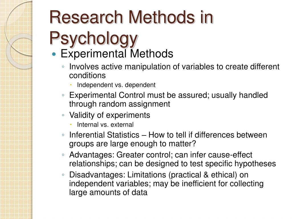 PPT - Sub-Fields of Psychology PowerPoint Presentation - ID