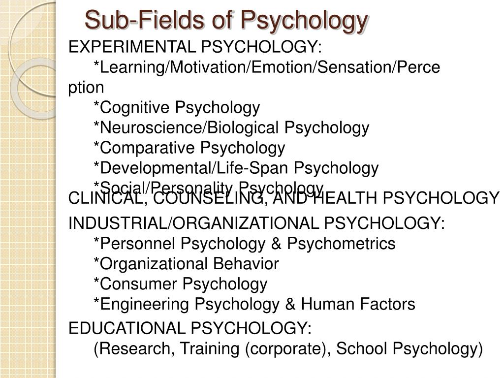 biological psychology research
