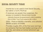 social security today