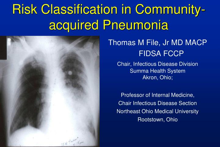 risk classification of pneumonia Hospitalized patients may have many risk factors for pneumonia  pneumonia classification and external resources a chest x ray showing a very prominent wedge.