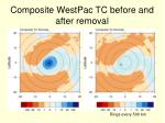 composite westpac tc before and after removal