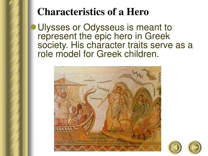 odysseus the representation of greeks heroic ideals