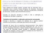 t tulo ii dos crimes contra o patrim nio cap tulo ii do roubo e da extors o artigo 157 16019