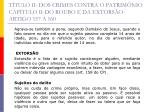 t tulo ii dos crimes contra o patrim nio cap tulo ii do roubo e da extors o artigo 157 16025