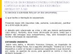 t tulo ii dos crimes contra o patrim nio cap tulo ii do roubo e da extors o artigo 157 16041