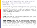 t tulo ii dos crimes contra o patrim nio cap tulo ii do roubo e da extors o artigo 157 16042