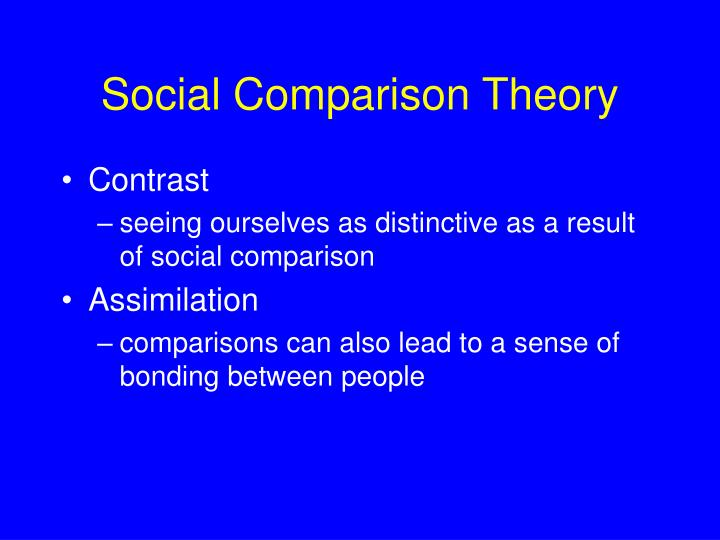 theory comparrison The theory-theory of concepts is a view of how concepts are structured first, one wants to be able to compare concepts across individuals with different theories.
