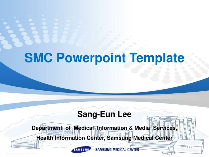 Ppt Smc Powerpoint Template Powerpoint Presentation Free