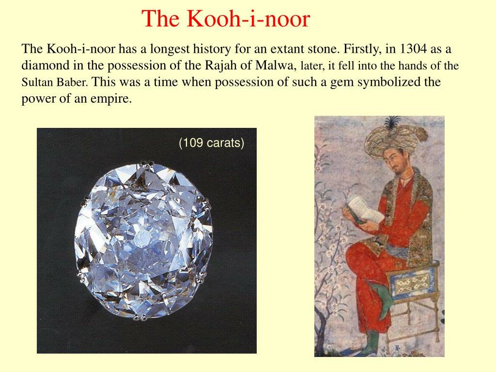 The Kooh-i-noor