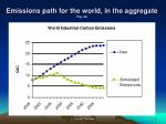 emissions path for the world in the aggregate fig 4a