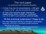 the next paper co authored with valentina bosetti