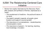 iusm the relationship centered care initiative15