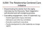 iusm the relationship centered care initiative16