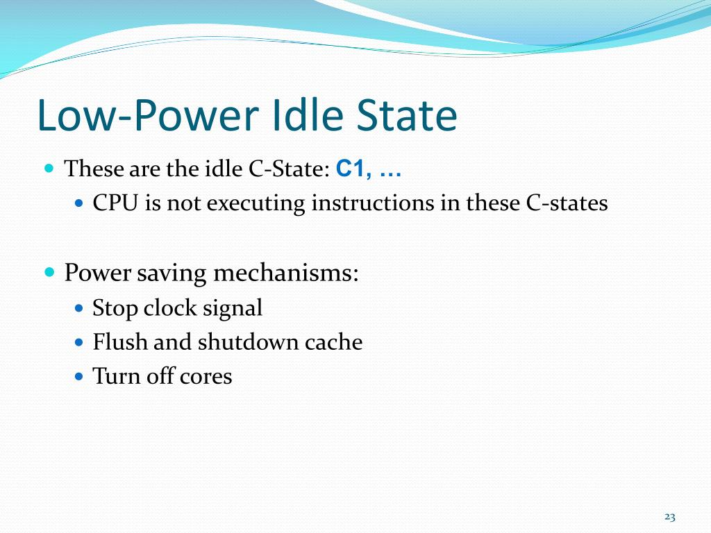 PPT - Power Management Features in Intel Processors