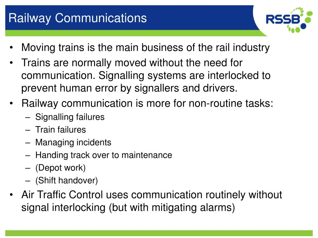 Ppt Communication Error And Railway Incidents Powerpoint Presentation Id 1111517