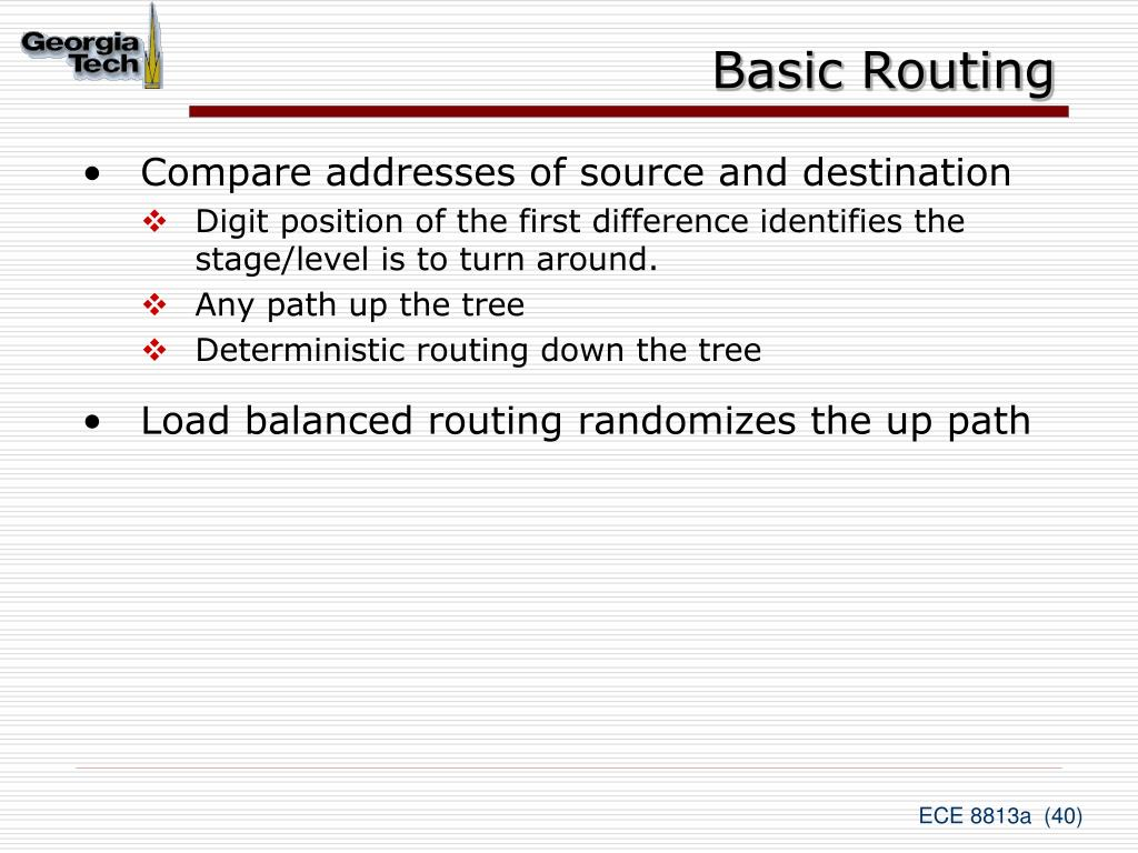 Basic Routing