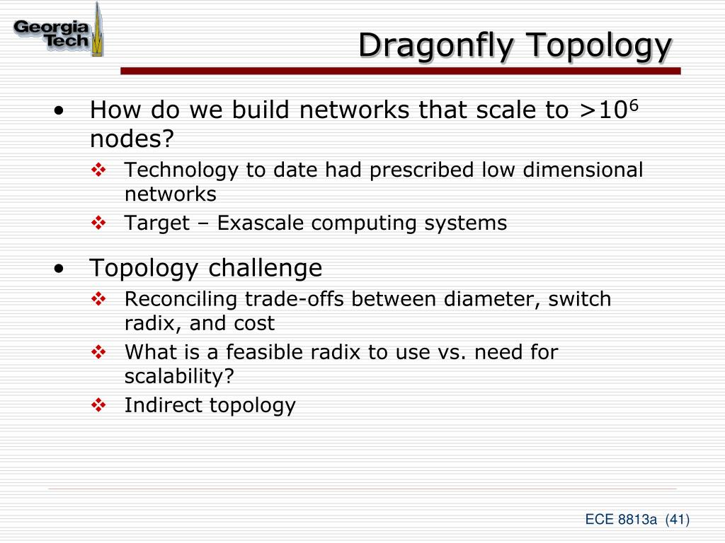 Dragonfly Topology