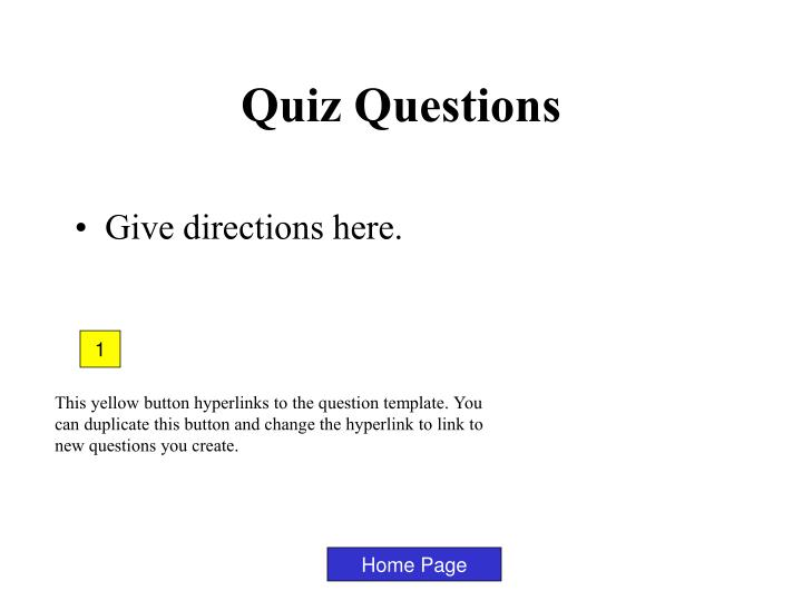 Ppt Quiz Questions Powerpoint Presentation Free Download
