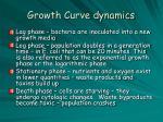 growth curve dynamics