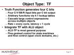 object type tf