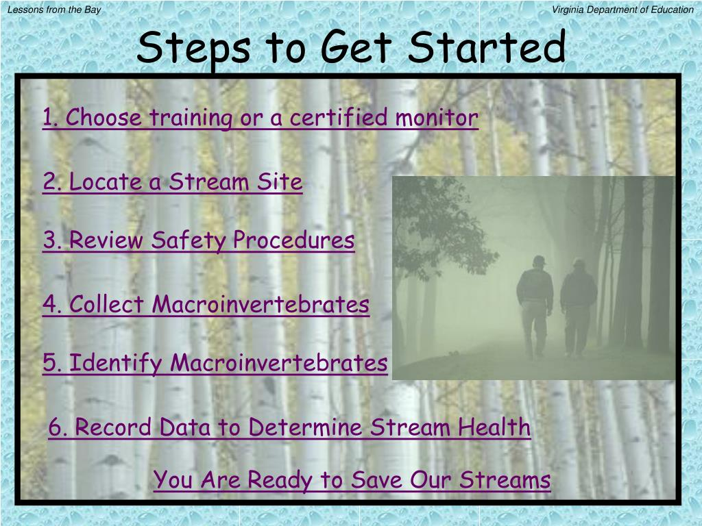 Steps to Get Started