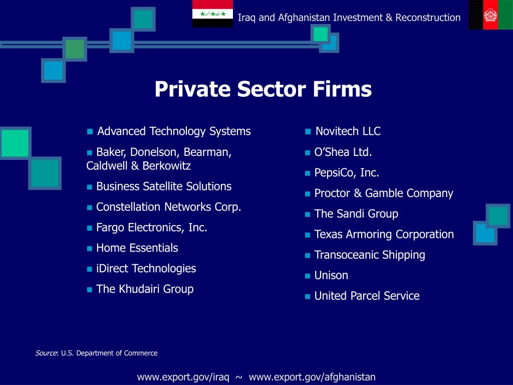 Private Sector Firms