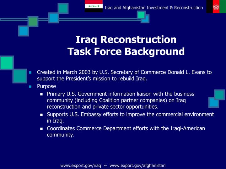 Iraq Reconstruction
