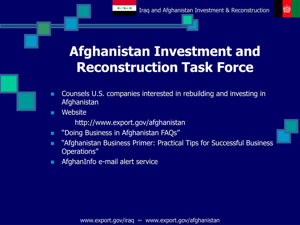 Afghanistan Investment and Reconstruction Task Force