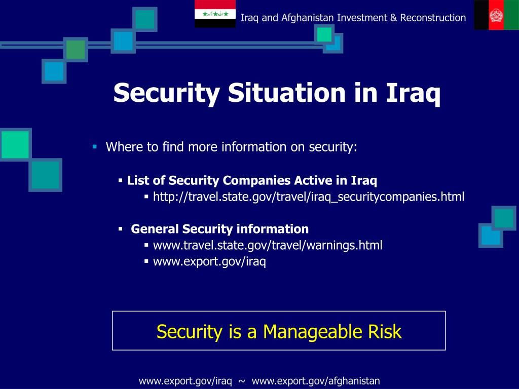 Security Situation in Iraq