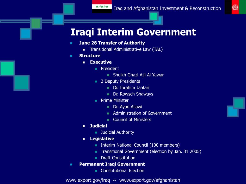 Iraqi Interim Government
