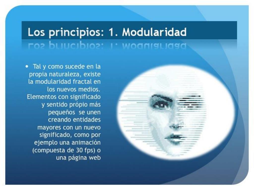 Los principios: 1.