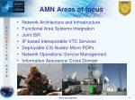 amn areas of focus