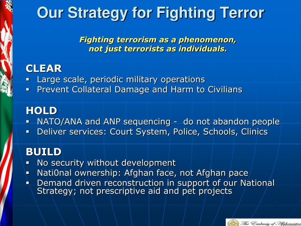 Our Strategy for Fighting Terror