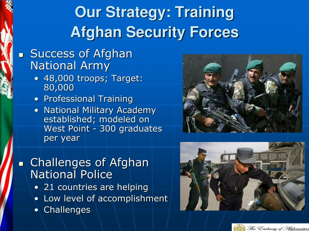 Our Strategy: Training