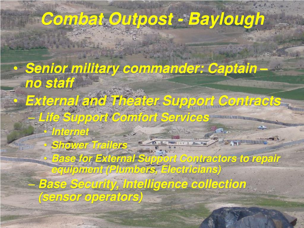 Combat Outpost - Baylough