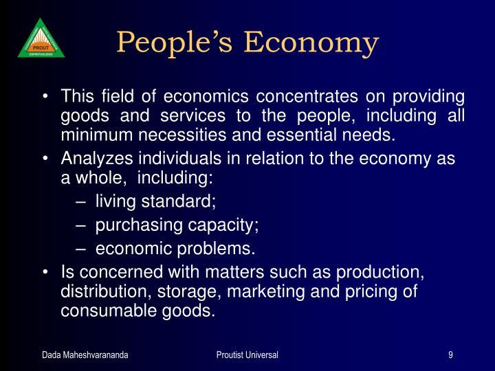 People's Economy
