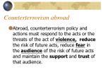 counterterrorism abroad