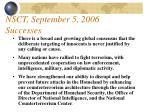 nsct september 5 2006 successes16