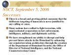 nsct september 5 2006 successes87