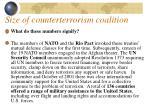 size of counterterrorism coalition50
