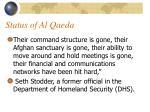 status of al qaeda