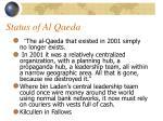 status of al qaeda45