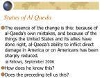 status of al qaeda46