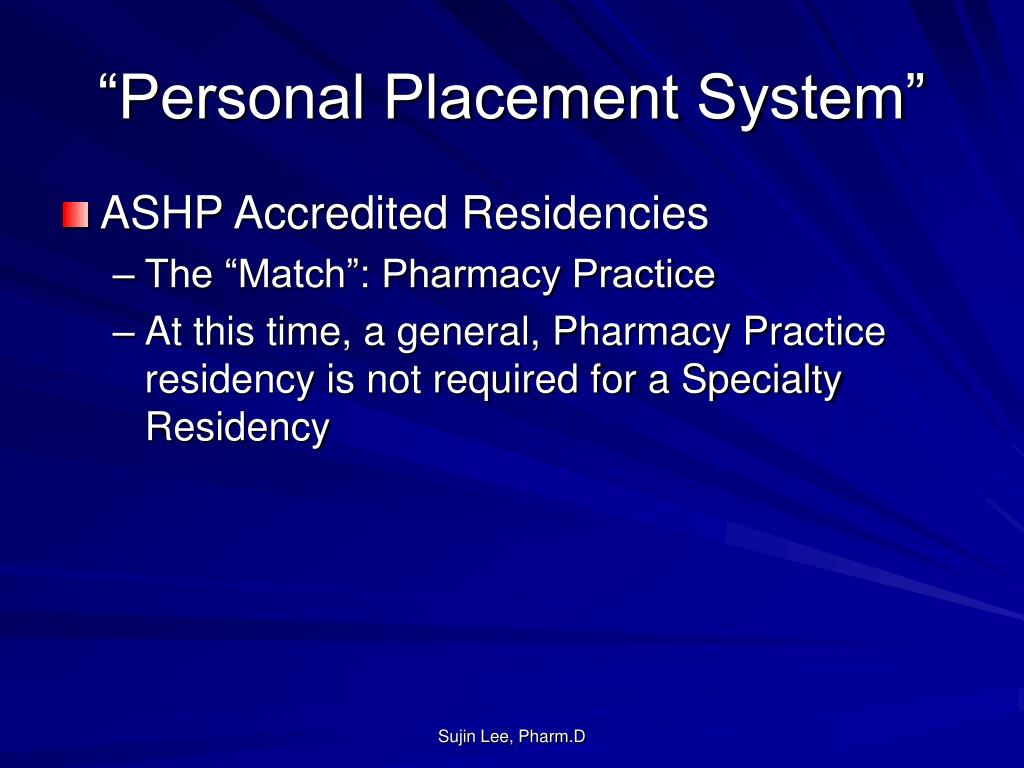 """""""Personal Placement System"""""""