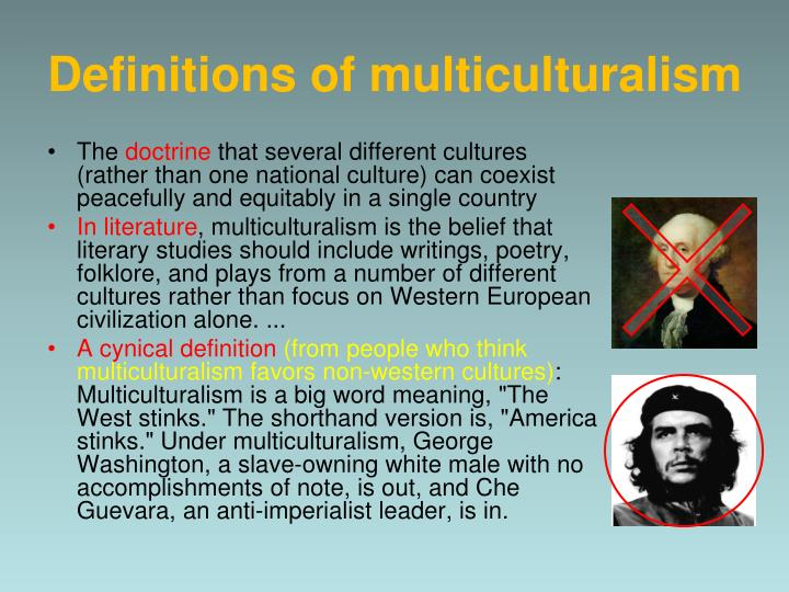 Definitions of multiculturalism