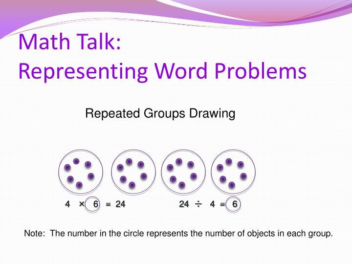 Math Talk: